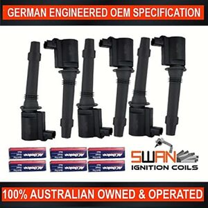 6-x-Ignition-Coil-with-ACDelco-Spark-Plugs-for-Ford-BA-BF-FG-LPG-XR6-Territory