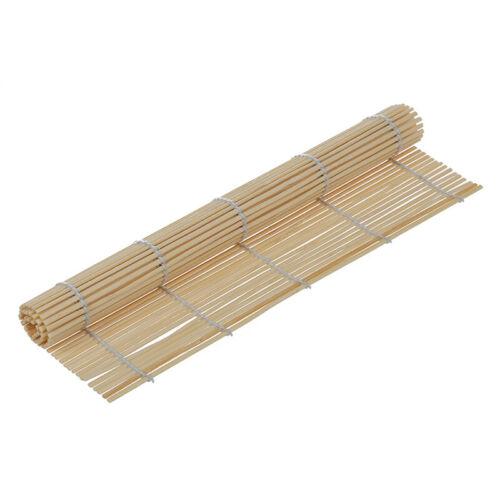 1X Japanische SUSHI Matte Bambus Rollmatte Polster JAPANISCHE KueCHE 23cm x 2 6A