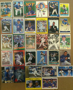 RYNE-SANDBERG-LOT-of-37-inserts-base-cards-NM-HOF-chicago-cubs-1985-1997-Topps