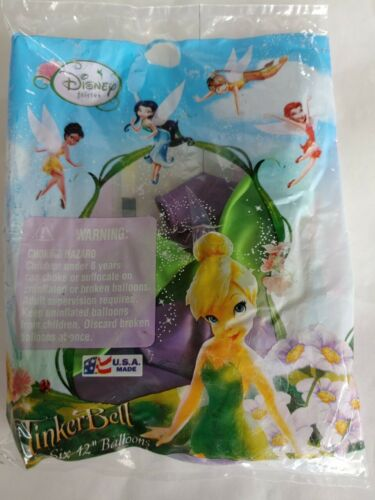 Tinker Bell Disney Fairies Balloons Birthday Party New Free Shipping