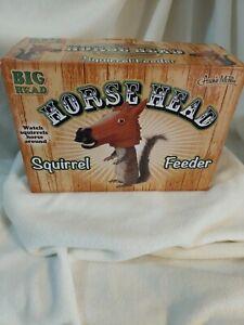 Squirrel Feeder - Archie McPhee Big Head - Horse Head Animal Feeder