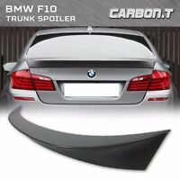 Stock In Us Unpainted Rear Trunk Spoiler For Bmw 5-series F10 Sedan Ac Type