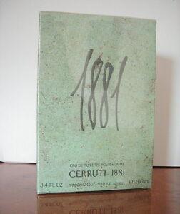 Cerutti-1881-POUR-HOMME-EAU-DE-TOILETTE-MEN-100ml-EDT-Spray-NUOVO