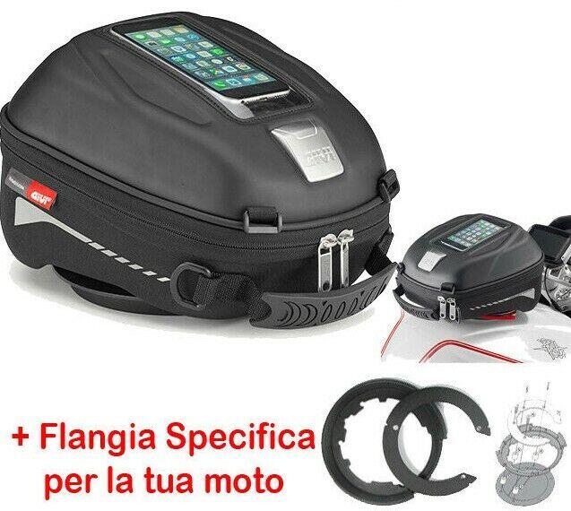 FLANGIA ATTACCO BORSA DA SERBATOIO SPECIFICA TANKLOCK BF23 YAMAHA TRACER 900 GT 2018 GIVI
