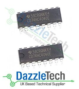 74HC4040-12-Stage-Binary-Counter-CMOS-integrated-circuit-74HC4040E-N-Pack-of-2