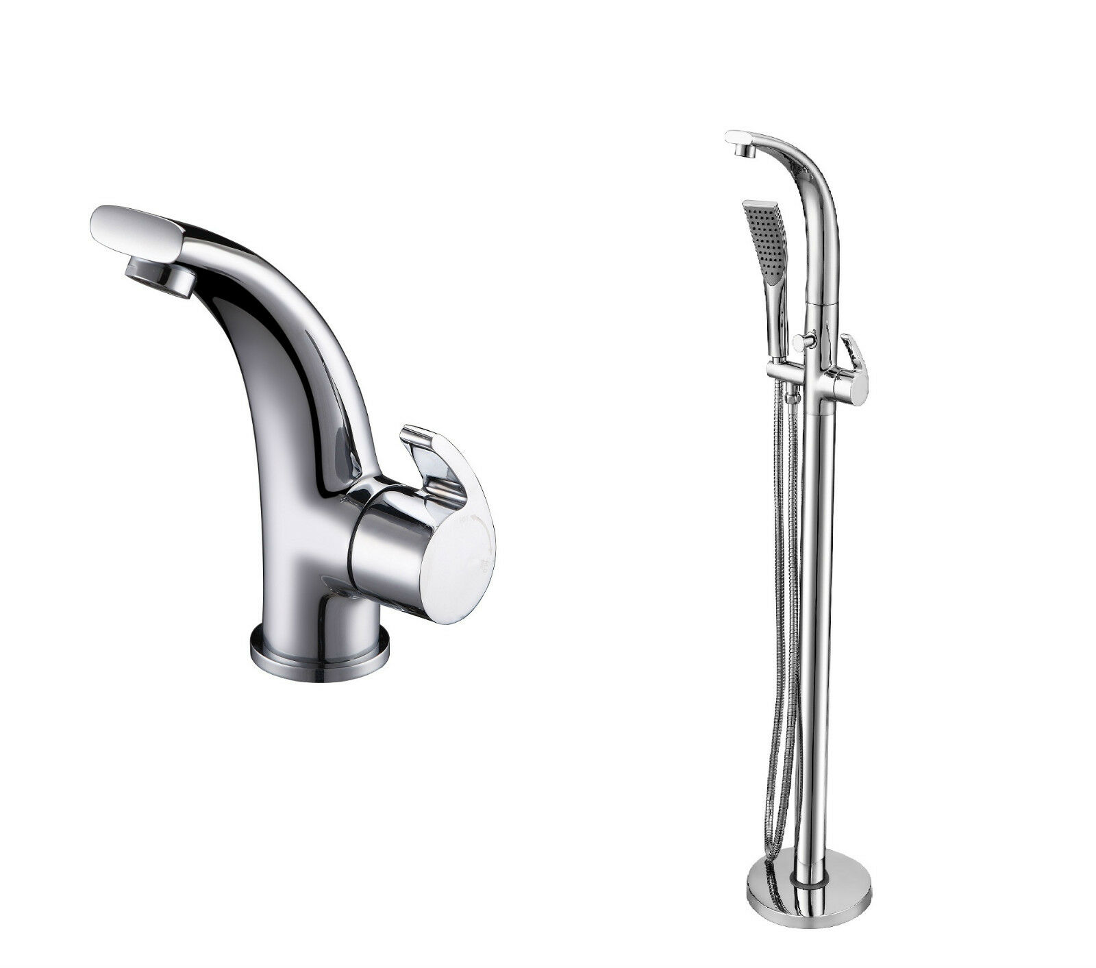 Royce morgan grace mélangeur lavabo robinet & baignoir bain douche mitigeur robinets