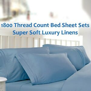 Merveilleux Image Is Loading 1800 Thread Count Sheet Set Luxury Linens Hotel