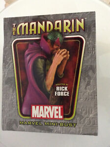 MARVEL-BOWEN-THE-MANDARIN-BUST-LOW-163-1800-MIB-AVENGERS-IRON-MAN-VILLAIN-NEW-12