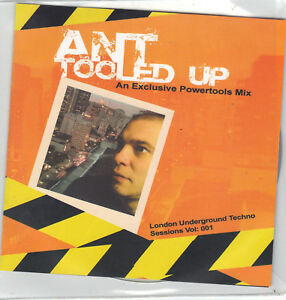 ANT TOOLED UP TECHNO SESSIONS VOL1 - LONDON, United Kingdom - ANT TOOLED UP TECHNO SESSIONS VOL1 - LONDON, United Kingdom