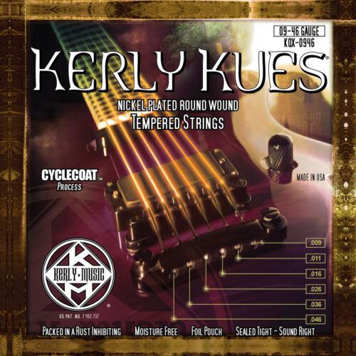 Kerly Kues USA Long Life Electric Guitar Strings Choice of Gauges
