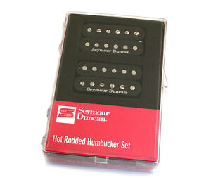 Seymour duncan hot rodded humbucker set black ebay image is loading seymour duncan hot rodded humbucker set black asfbconference2016 Images