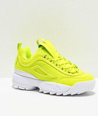 Nuevo Zapatos Amarillo fila Disruptor II Shift dos 2 | eBay