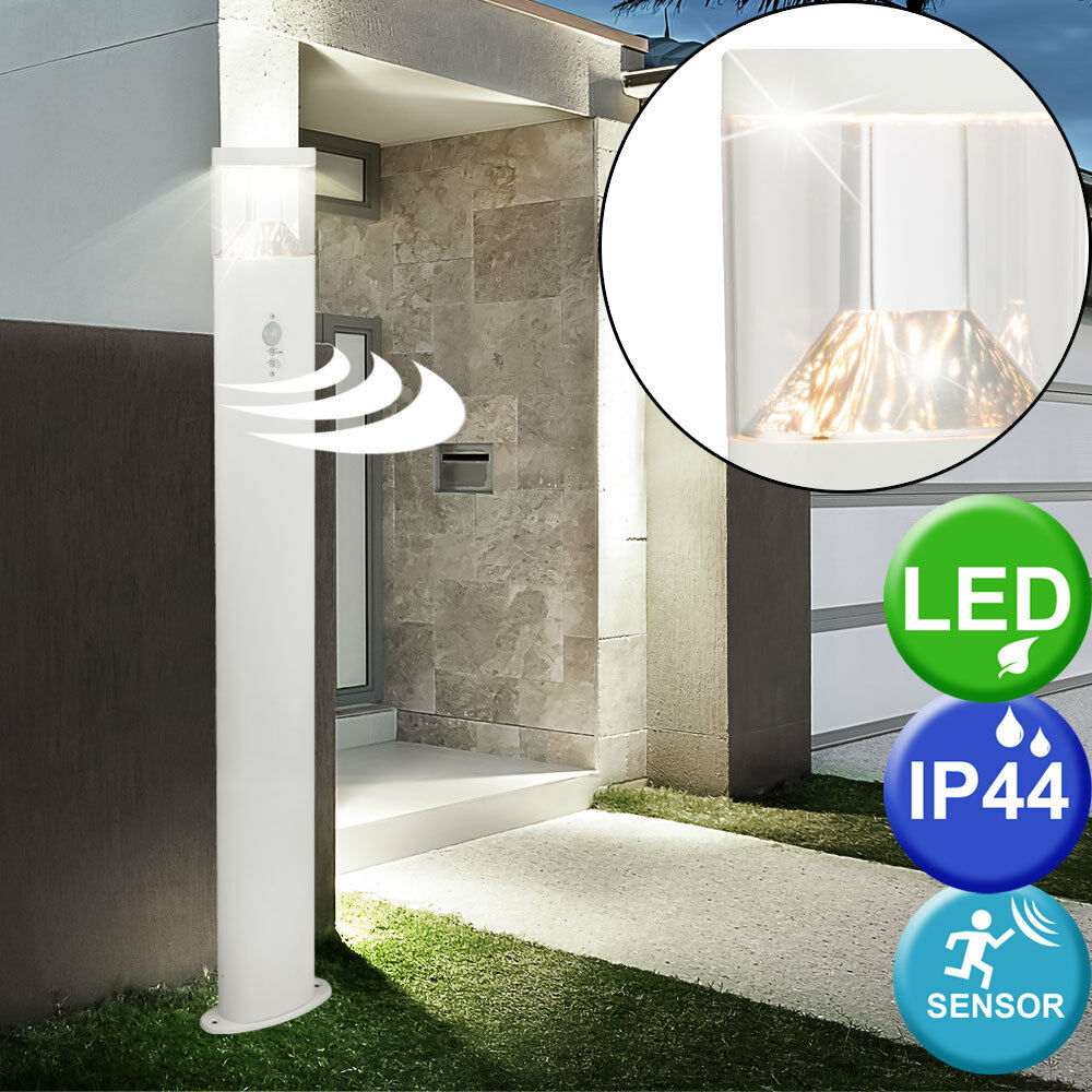 LED exterior stand lámpara de acero inoxidable movimiento Anunciación patio entrada lámpara de acero inoxidable