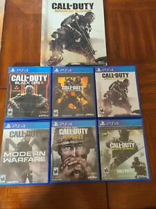 Call Of Duty Video Game Bundle For PS4 with advanced warfare book!!!