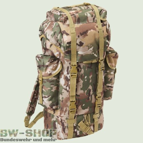 Ejército alemán combate mochila 65l trópico camo nuevo BW MOCHILA outdoor trekking bolso