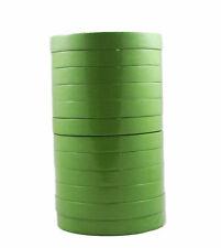 "3M 26334 Scotch 233+ Green Automotive Masking Tape, 3/4"" x 55m, Sleeve 12 Rolls"