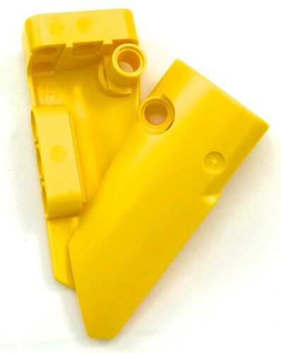Lego 2 New Yellow Technic Panels Fairing # 4 Small Smooth Long Side Parts