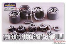 1/20 Hobby Design Brakes detail set for the Fujimi Ferrari F2003-GA .  HD03-0180