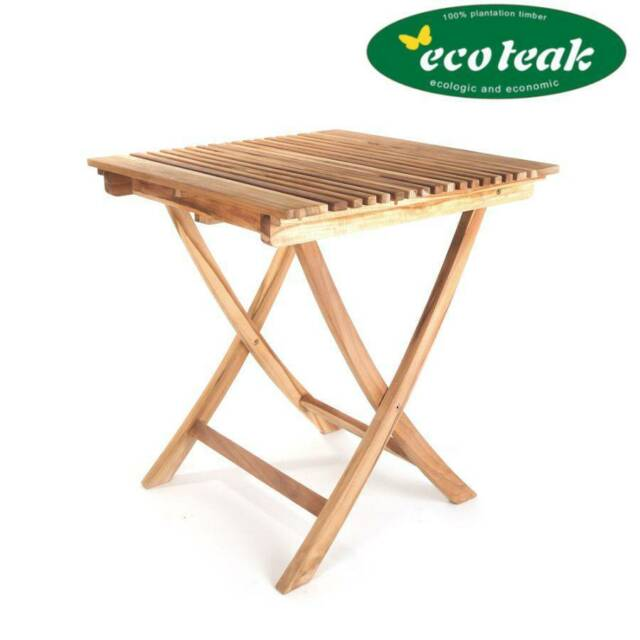 Swell Eco Teak Outdoor Folding Table Wooden Table Rectangular Teak Wooden Balcony Table Garden Porch Home Remodeling Inspirations Propsscottssportslandcom