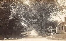C58/ Barnstable Massachusetts Ma RPPC Real Photo Postcard c1910 Hyannis Rd Homes