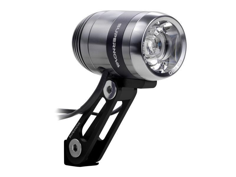 NEW Supernova E3 Pro 2 Road - Front Dynamo LED Headlight - 205 Lumens