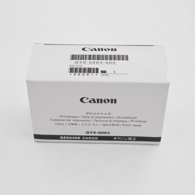 BLACK QY6-0083 Print Head for Canon MG6350 MG6350 MG6310 MG6320 MG6350  MG7510