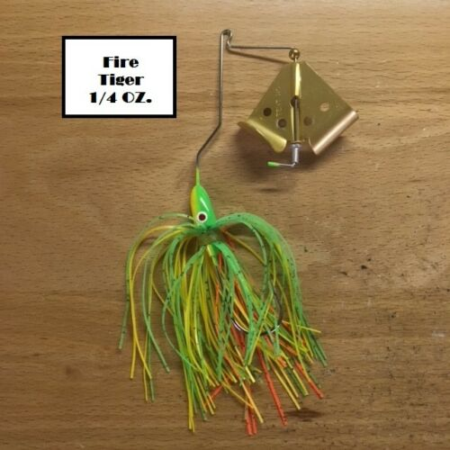 Lure Authority Gold Prop BuzzBait with Oxbow Bend Set