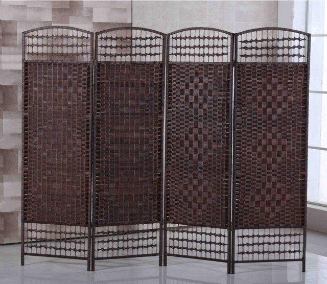 Pleasant Hand Made Wicker Folding Room Divider Solid Weave Separator Privacy Screen Panel Download Free Architecture Designs Parabritishbridgeorg