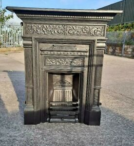Cast Iron All in one  Combination Fireplace Complete and ready to fit