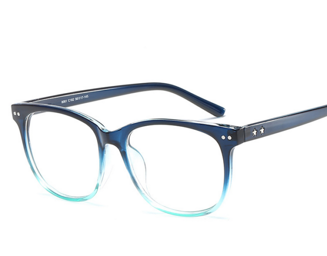Mens Fashion Glasses Frames With Anti Scratch Coated Clear Lenses