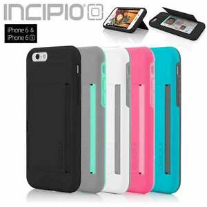 Incipio-iPhone-6S-6-Case-4-7-034-Stowaway-Credit-Card-ID-Kickstand-Hard-Cover