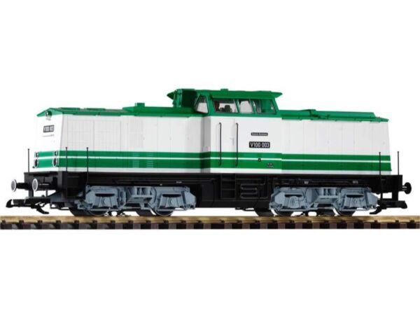 Actif Piko 37566 Locomotive Diesel Br V100 003 Musée, Époque V - Vi, Échelle G