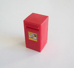 Playmobil N2140 Noel Boite A Lettres Rouge Du Pere Noel 4161 Ebay