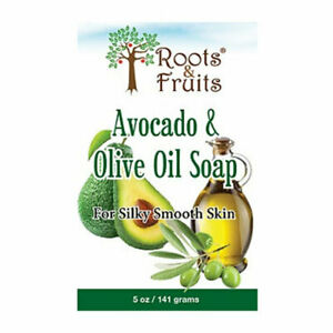 Roots-amp-Fruits-Bar-Soap-Avocado-amp-Olive-Oil-5-Oz