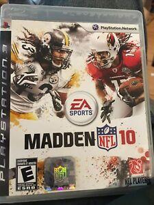 Madden NFL 10 ( Sony Playstation 3,2010 ) PS3 Cib