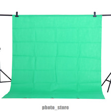 New 1.6x1M Green Backdrop Screen Video Background Non-woven Photography Studio