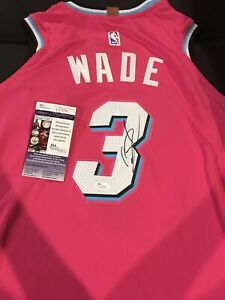 more photos 84f11 f0e81 Details about Dwyane Wade Signed Autographed Miami Heat Vice Jersey! JSA  COA!