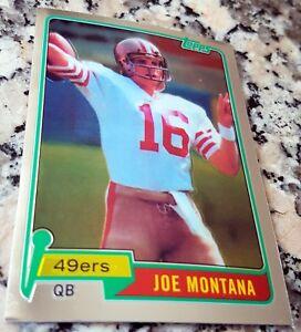 JOE-MONTANA-2010-Topps-CHROME-1981-Rookie-Card-RC-SP-Reprint-San-Francisco-49ers
