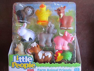 4X Fisher Price Little People Farm Barn Animals Pig Duck Rabbit Nativity kid toy