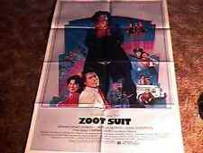 ZOOT SUIT MOVIE POSTER 1981 CULT CLASSIC