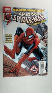 AMAZING-SPIDER-MAN-546-1st-Printing-Brand-New-Day-2008-Marvel-Comics