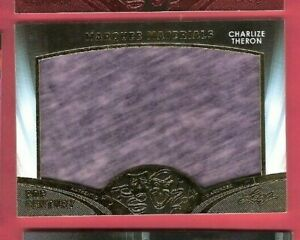 Charlize-Theron-Actress-JUMBO-WORN-WARDROBE-RELIC-SWATCH-CARD-2016-POP-CENTURY