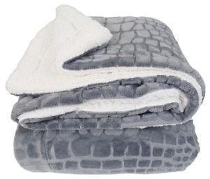 Pile-PLAID-coperta-2-piazze-matrimoniale-240x210-Andalo-Grigio