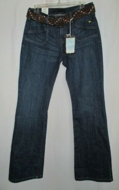 0732c9dd1fd Women s (Size 6M) LEVI S 545 Low Rise Boot-Cut Jeans Braided Leather Belt