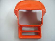 Mascherina portafaro  anteriore arancio Honda XLR 600  XR600  XL350R