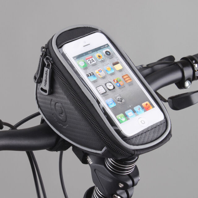 Roswheel Cycling Bike Bicycle Front Frame Handlebar Bag Pouch for 5in Cellphone