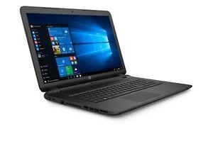 mattes-17-Zoll-HP-Notebook-Intel-DVD-Brenner-Webcam-USB-3-0-WLAN-Nummernblock