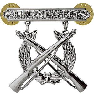 Vanguard USMC Marines Rifle Badge Expert- tireur d'élite- Marksman-afficher le titre d`origine M7IMbaXX-07134710-800379392