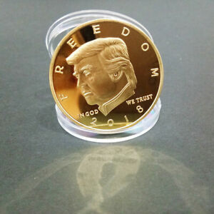 2018-Collectibles-US-President-Donald-Trump-Commemorative-Coin-Gold-Plated