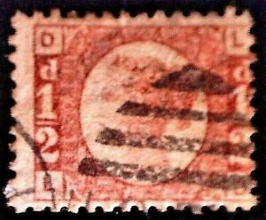 CatalinaStamps: Great Britain Stamp #58 Used Plate 20, SCV=$80, #A-2